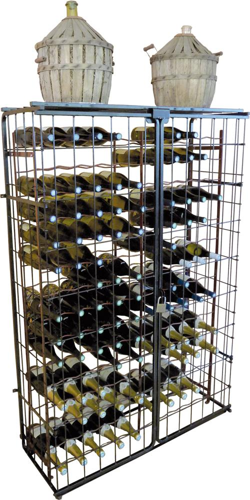 Armadio chiuso per scaffale portabottiglie 150 pz tom press - Scaffale portabottiglie ...