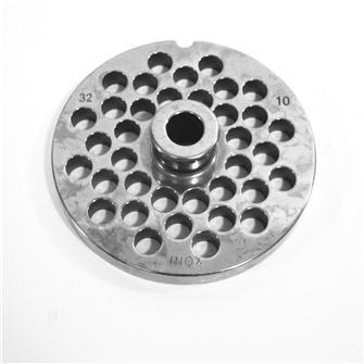 Piastra 10 mm in inox per tritacarne n.32
