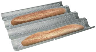 Stampo per 4 baguettes