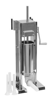 Insaccatrice vertic./orizzont. inox 5 kg Tom Press by REBER