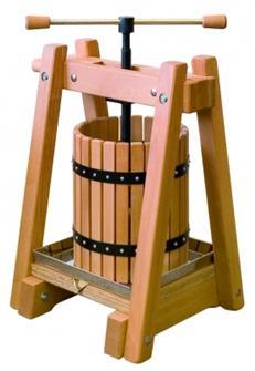 Torchio in legno 40 l
