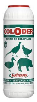 Colofonia per pelare e spiumare, 600 g