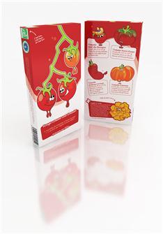 """Pacchetto con 5 varietà """"Rosso come un pomodoro"""""""