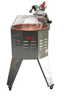 Paiolo mescolatore, 30 l, con fornello 10 kW e luce notturna