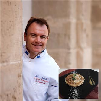 Ricetta delle crèpes tirolesi dello chef Tenailleau
