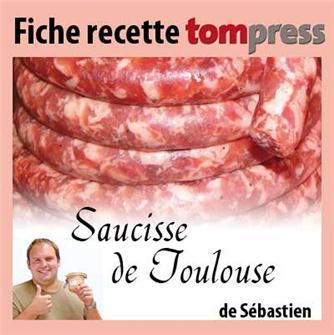 Ricetta della salsiccia di Tolosa di Sebastien
