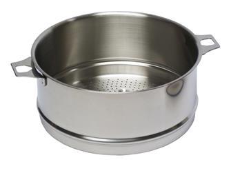 Cestello inox per cottura vapore 20 cm