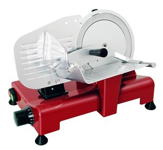 Affettatrice elettrica 195 mm rossa CE pro