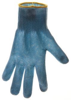 Guanto anti-taglio tg. 6 bordo giallo