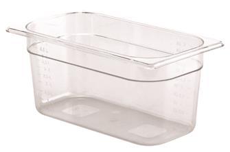 Contenitore per alimenti senza BPA GN h.15 cm in c