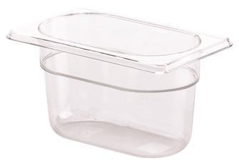 Bacinellla per alimenti senza BPA GN 1/9 h.10 cm copoliestere