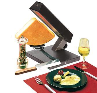 Raclette per 1/4 di formaggio