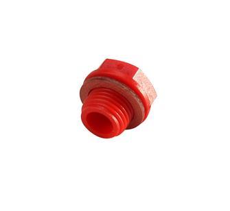 Tappo rosso isolato per motore REBER