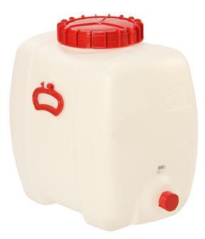 Cisterna rettangolare per alimenti. 60 l.