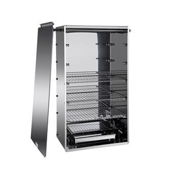 Affumicatore inox modello grande orizzontale/verticale TomPress