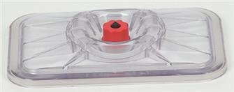 Coperchio per sottovuoto per contenitori rettangolari 20x25 cm
