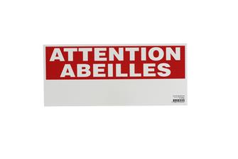 "Cartello ""Attention abeilles"""
