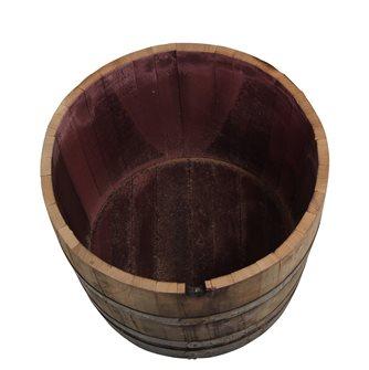 1/2 barile quercia usato 110 litri