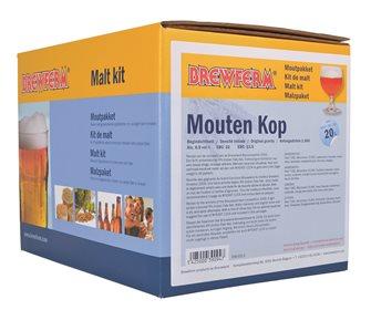 Kit malto Mouten kop per 20 litri di birra