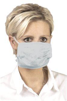 5 mascherine protettive morbide usa-getta blu