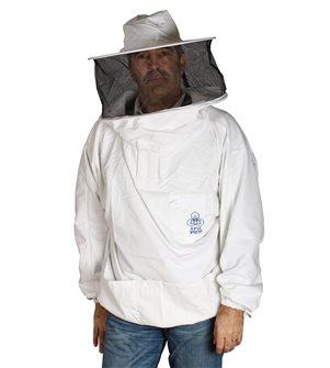 Camicia da apicoltore con cappello e velo taglia XXL