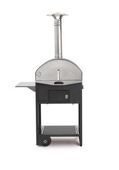 Forno a legna combinato - barbecue e forno
