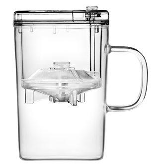 Mug in vetro per infusione 430 ml