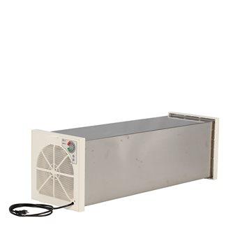 Disidratatore a tunnel in inox 12 vassoi con termostato