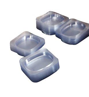 Vaschetta plastica per bistecca (250 pz)