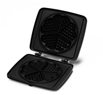 Stampo 5 mini waffle cuore