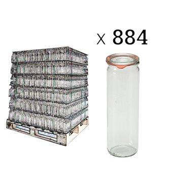Vaso Weck 1/2 litro speciale asparagi su bancale da 884 pz.