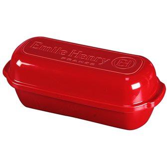 Stampo grande in ceramica rossa Grand Cru Emile Henry per pane