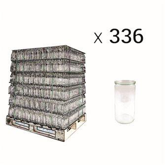 Vaso Weck 1,5 litri speciale asparagi bancale da 336 pz