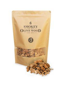 Confezione segatura olivo per barbecue
