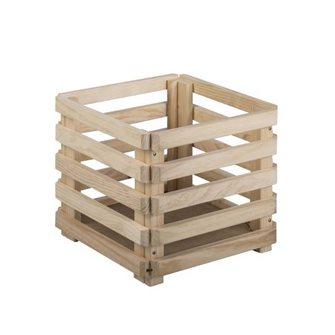 Cassetta in legno pino massello 38 cm