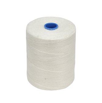 Rotolo 1 kg di spago per salumi lino grezzo bianco