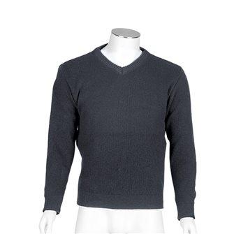 Maglione uomo grigio collo V Bartavel Gers XL