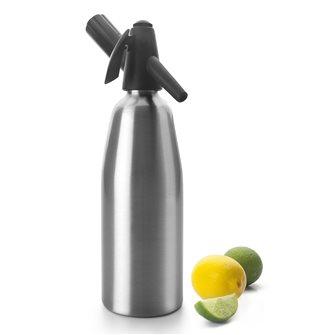 Sifone alluminio per soda e acqua Seltz 0,8 l