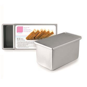 Stampo pane in cassetta alluminio anodizzato 19 cm