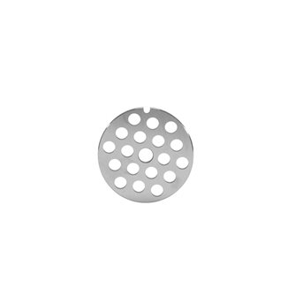 Piastra fori 8 mm per tritacarne elettrico REBER n.8 inox