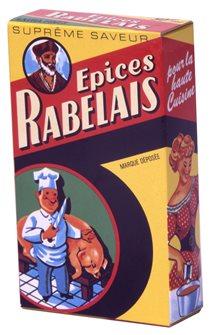 Spezie Rabelais da 50 g per terrine, paté, pollo