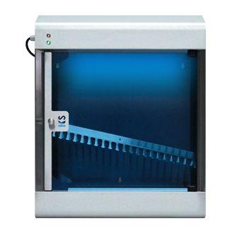 Armadio di sterilizzazione inox automatico 15 W per 20 coltelli