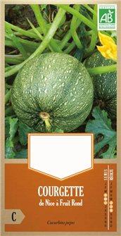 Semi di zucchina di Nizza con frutto rotondo