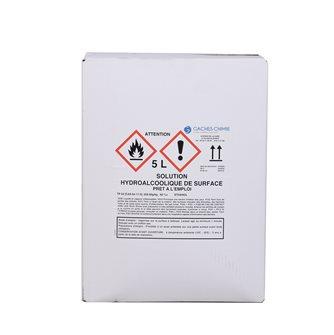 Soluzione idroalcolica 5 litri per disinfettare le superfici