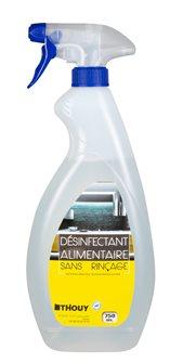 Disinfettante spray 750 ml virucida senza risciacquo adatto al contatto alimentare