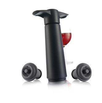 Pompa per sottovuoto per bottiglie e 2 tappi