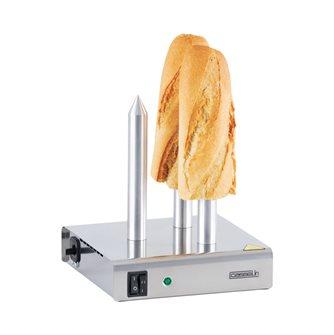Scaldapane professionale 3 postazioni per sandwich-hotdog
