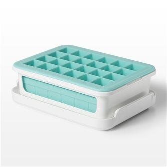 Stampo in silicone 48 cubetti di ghiaccio + coperchio