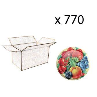 Capsule twist off 82 mm decoro frutti (630 pz.)