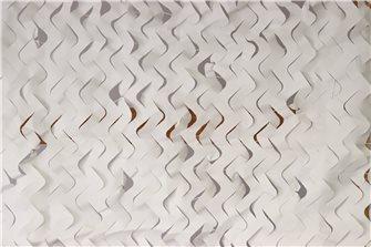 Filet de camouflage ou d´ombrage blanc 7,5 x 7,5 m